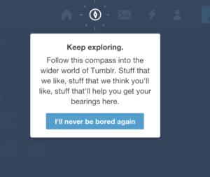 Tutorial Tumblr UI from UIGarage