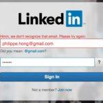 @linkedin #login #error #uigarage