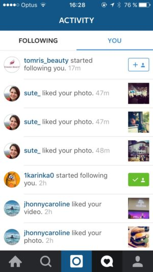 @instagram #activity #uigarage from UIGarage