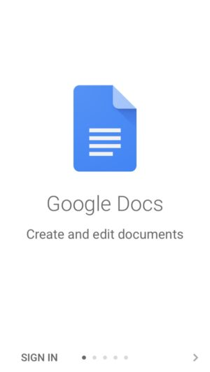 #onboarding #ios #iphone @google #docs from UIGarage
