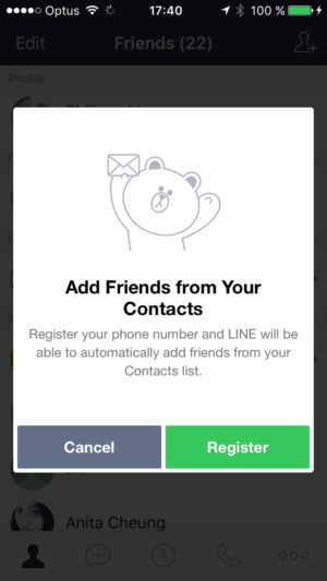 popup #ui #inspiration #ios @lineappworld from UIGarage