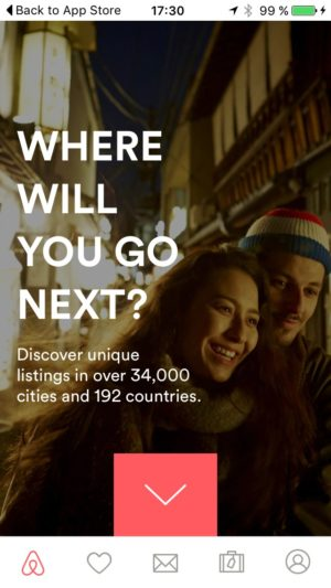 First Launch @airbnb #ui #inspiration #interface #ios #design from UIGarage