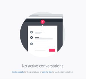 Empty state @invision #ui #inspiration #interface #web #design from UIGarage