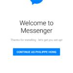 Login screen @messenger #ui #inspiration #interface #materia...