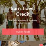 Ad screen invite friends @airbnb #ui #inspiration #interface...