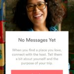 Empty state message login screen @airbnb #ui #inspiration #i...
