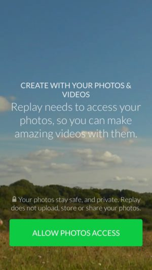 Ask photo permission @replay_app #ui #inspiration #interface #ios #design #iphone 3