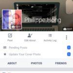 Profile Screen @facebook #ui #inspiration #interface #materi...