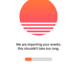 Loading screen @sunrise #ui #inspiration #interface #materia...