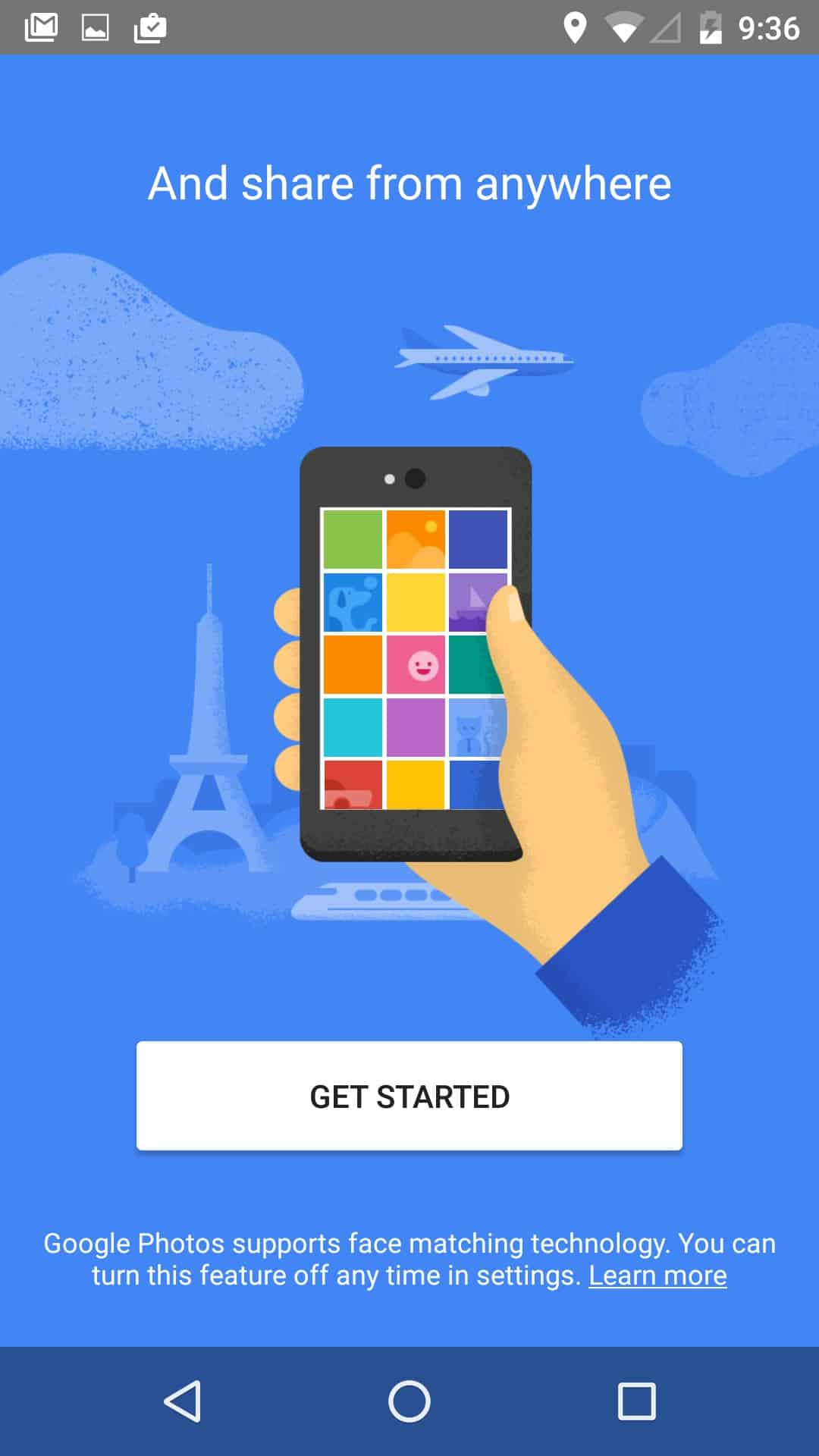 Onboarding @googlephoto #ui #inspiration #interface #materialdesign #design #android from UIGarage