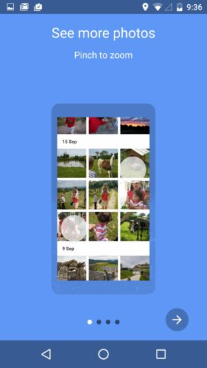 Walkthrough How to use @googlephotos #ui #inspiration #interface #materialdesign #design #android from UIGarage