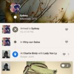 Timeline screen @path #ui #inspiration #interface #android #...