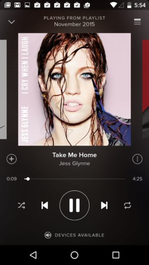 Music Player @spotify #ui #inspiration #interface #android #design from UIGarage
