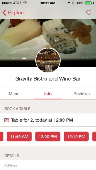Date picker @opentable #ui #inspiration #interface #ios #design from UIGarage