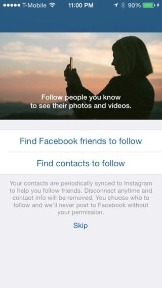 Ask permission @instagram #ui #inspiration #interface #ios #design All Ask Permission iOS  - UI Garage - The database of UI
