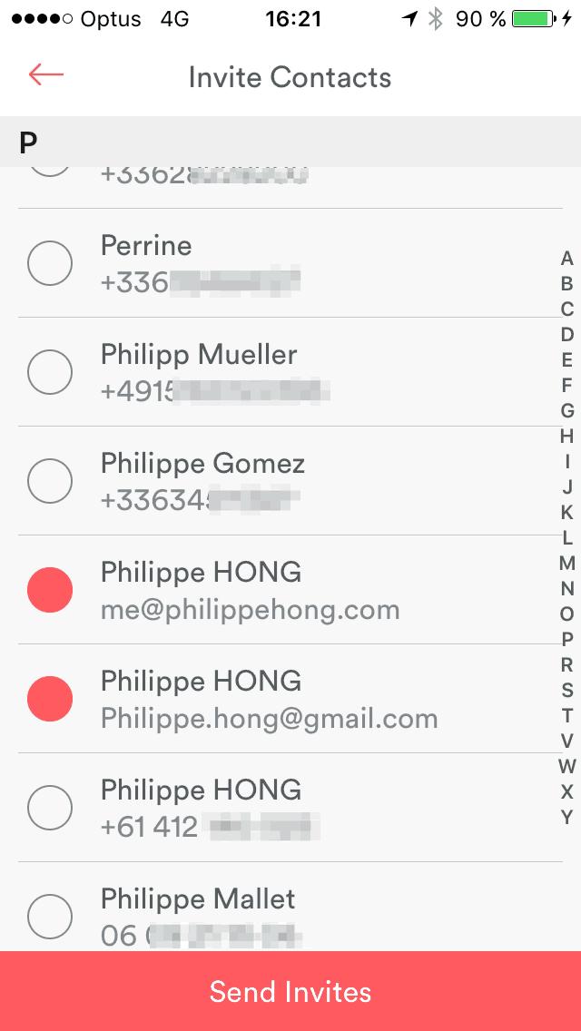 Checkbox Select @airbnb #ui #inspiration #interface #ios #design #iphone Checkbox iOS List  - UI Garage - The database of UI