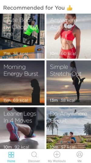 Grid view #ui #inspiration #interface #ios #design #iphone @zovafit 18