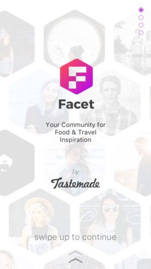 Vertical Onboarding @facet.nation #ui #inspiration #interface #ios #design #iphone from UIGarage