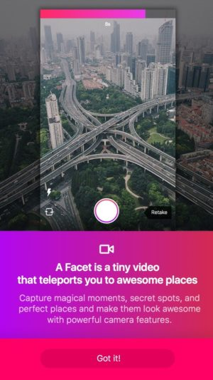 Tutorial screens @facet.nation #ui #inspiration #interface #ios #design #iphone from UIGarage