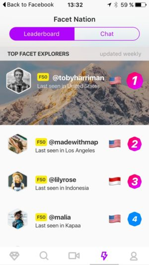 Leaderboard screen #ui #inspiration #interface #ios #design #iphone from UIGarage