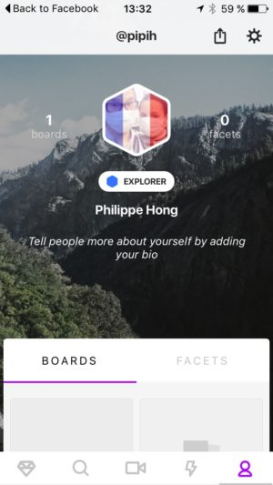 Profile screen #ui #inspiration #interface #ios #design #iphone from UIGarage