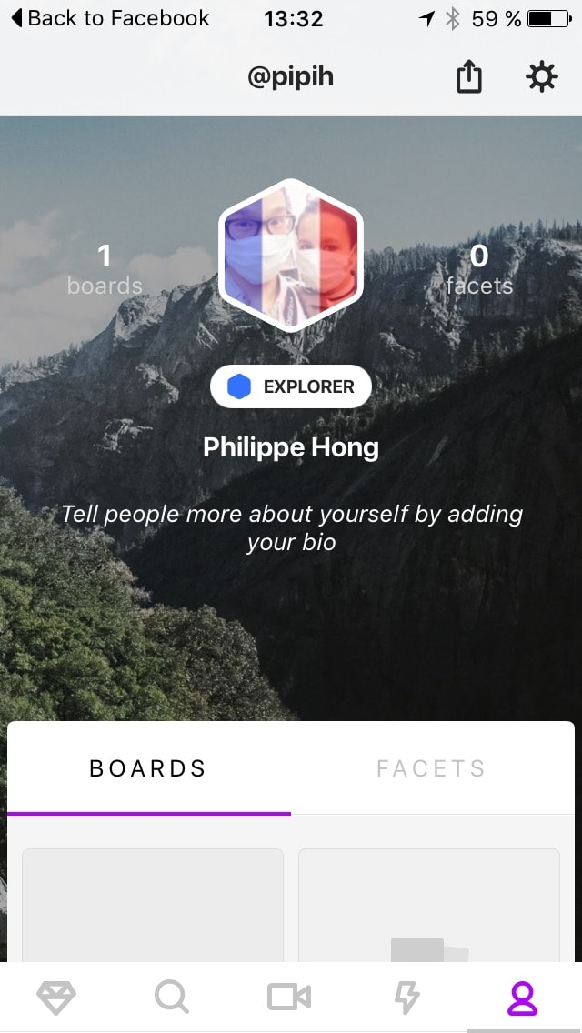 Profile screen #ui #inspiration #interface #ios #design #iphone iOS Profile  - UI Garage - The database of UI