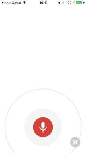 Recording voice screen @googlemaps #ui #inspiration #interface #ios #design #iphone from UIGarage