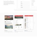 Landing page by @dawsonwhitfield #ui #inspiration #interface...