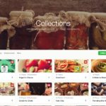 Browse collections on @zomato #ui #inspiration #interface #w...