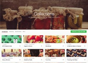 Browse collections on @zomato #ui #inspiration #interface #web #design from UIGarage