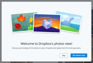 Onboarding @dropbox photos on Web #ui #inspiration #interface #web #design from UIGarage