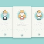 Voice recording personal assistant by @smlkm #ui #inspiratio...