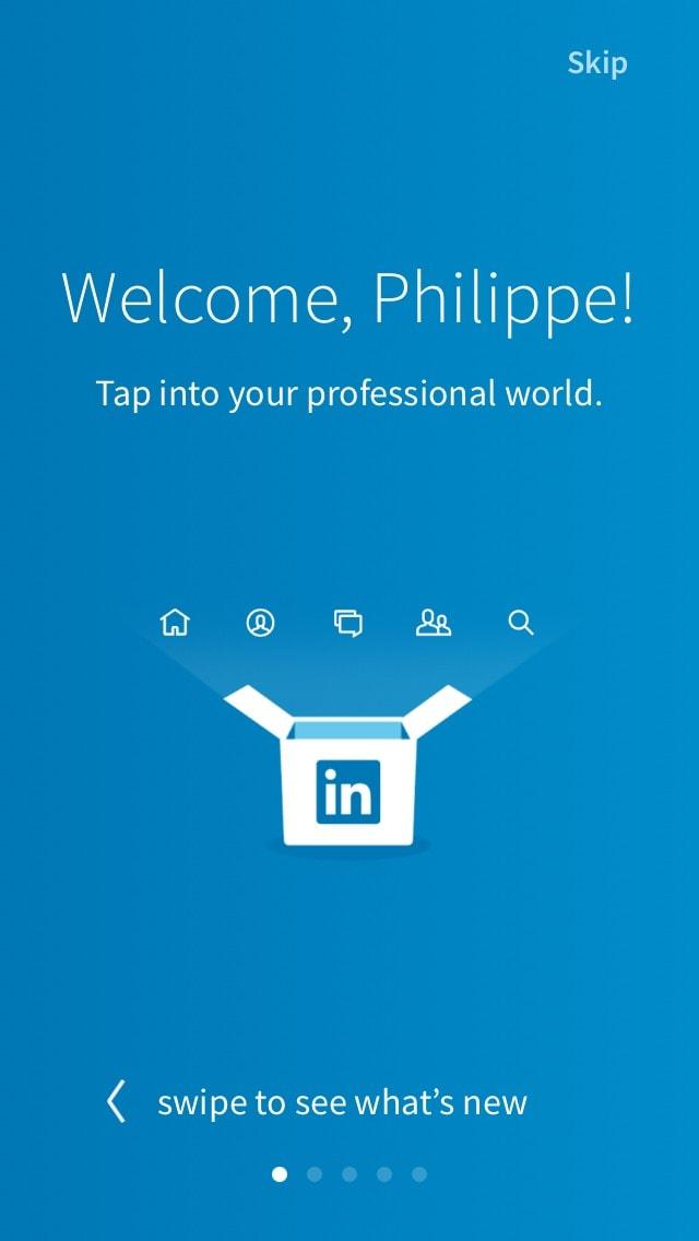 New Onboarding @linkedin #ui #inspiration #interface #ios #design #iphone 14