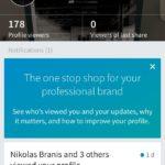 Profile screen @linkedin #ui #inspiration #interface #ios #d...
