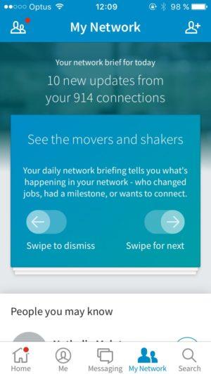 Tutorial on a screen @Linkedin #ui #inspiration #interface #ios #design #iphone 11