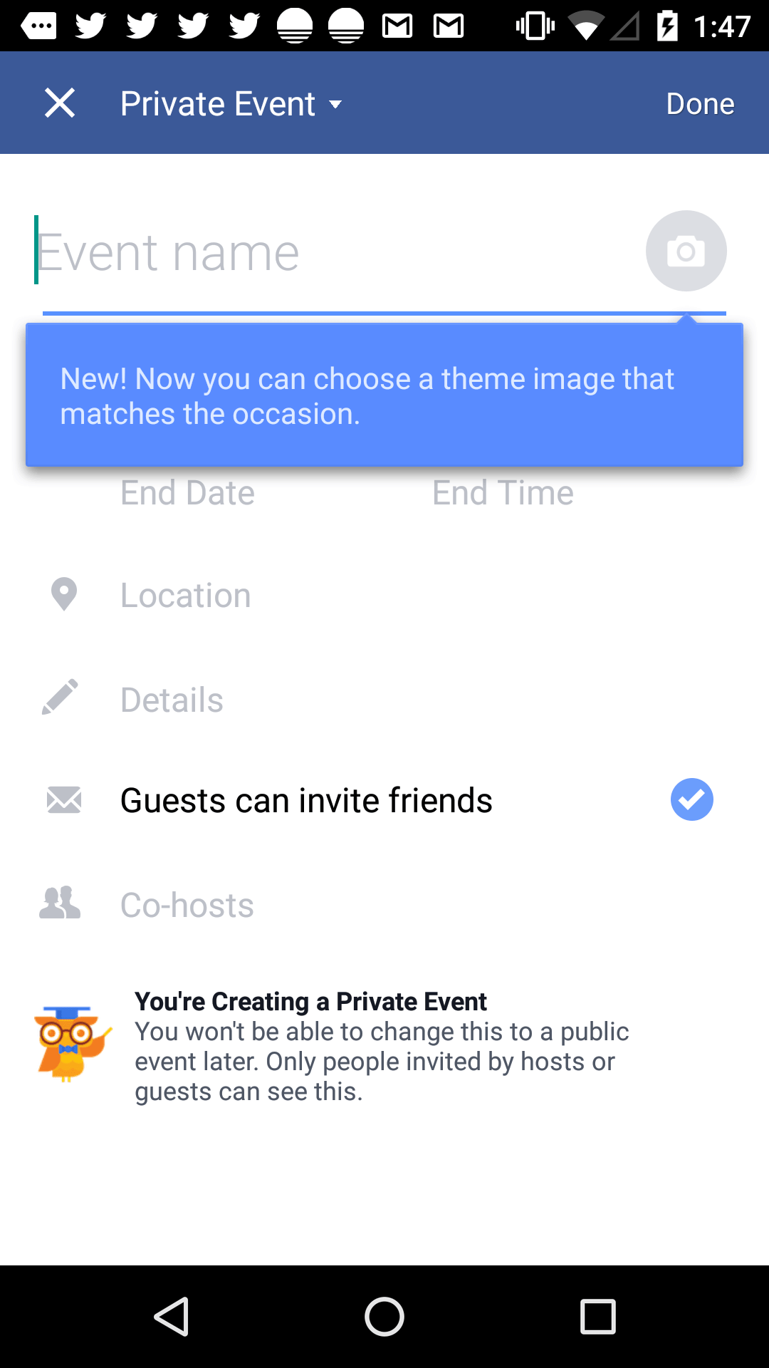 What's new bubble @facebook #ui #inspiration #interface #materialdesign #design #android What's new  - UI Garage - The database of UI