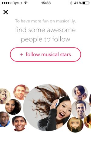 Ask permission contact @musicallyapp #ui #inspiration #interface #ios #design #iphone from UIGarage