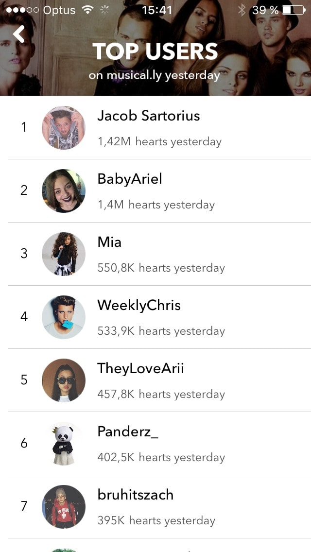 Leaderboard @musicallyapp #ui #inspiration #interface #ios #design #iphone iOS Leaderboard  - UI Garage - The database of UI