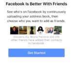 Find Friends screen @facebook #ui #inspiration #interface #i...