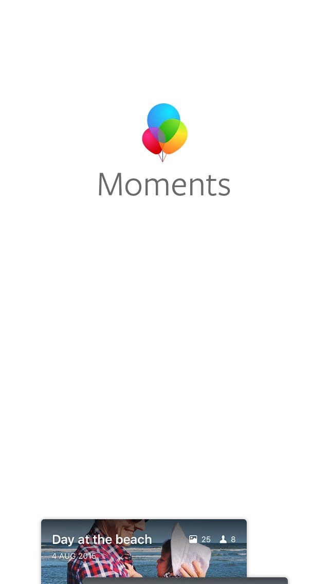 Onboarding by Moments @facebook #ui #inspiration #interface #ios #design #iphone 16