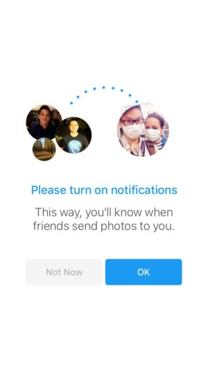 Ask for notification by Moment @facebook #ui #inspiration #interface #ios #design #iphone 14