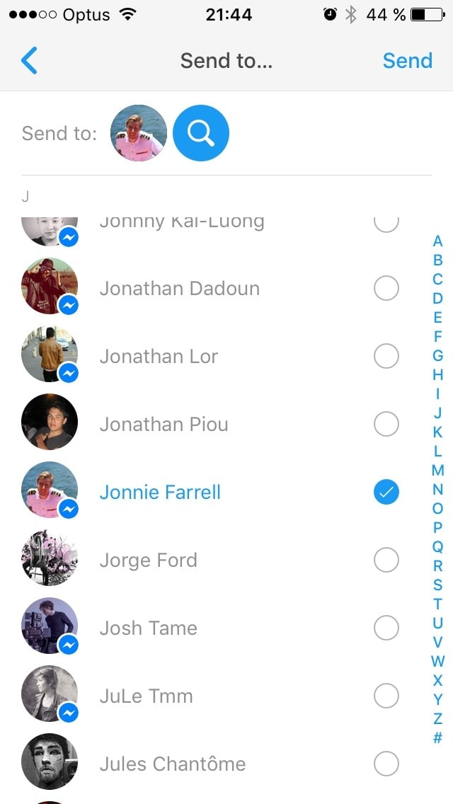 how to add contact label iphone