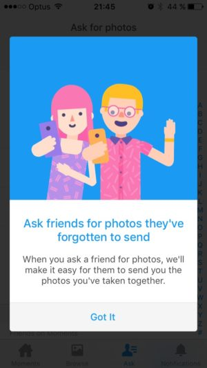 Tutorial by Moments @facebook #ui #inspiration #interface #ios #design #iphone 6