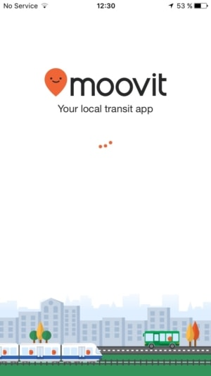 Launch Screen @Moovit #ui #inspiration #interface #ios #design #iphone from UIGarage
