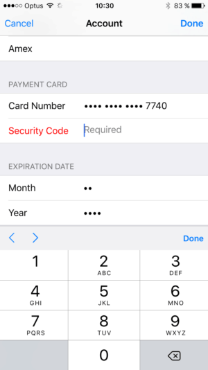 Error message @apple #ui #inspiration #interface #ios #design #iphone from UIGarage