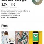 Profile by @pinterest #ui #inspiration #interface #ios #desi...