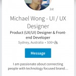 Profile page @linkedin #ui #inspiration #interface #ios #des...