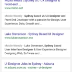 Search results on @google #search #results #ios #design