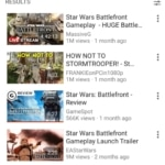 Search results on @youtube #search #results #ios #design