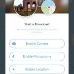 Permissions screen @periscope #ui #inspiration #interface #i...